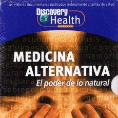 Cine: MEDICINA ALTERNATIVA EL PODER DE LO NATURAL ( 6 DVD PRECINTADO). Lote 126710003