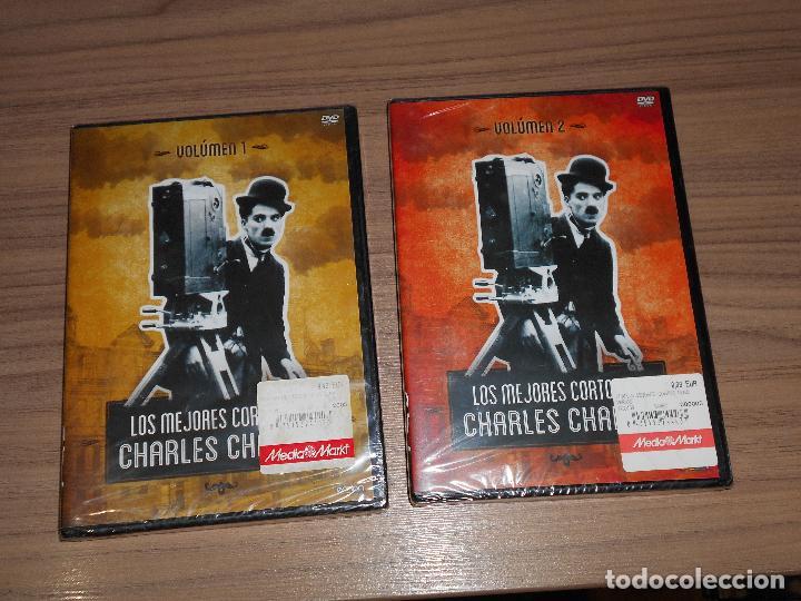 LOS MEJORES CORTOS DE CHARLES CHAPLIN VOLUMEN 1 Y 2 2 DVD NUEVA PRECINTADA (Cine - Películas - DVD)