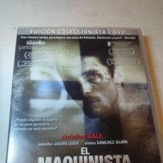 Cine: EL MAQUINISTA EDICION 2 DVDS. Lote 126758052