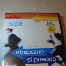 Cine: ATRAPAME SI PUEDES DVD EDICION ESPECIAL 2 DISCOS. Lote 126758390