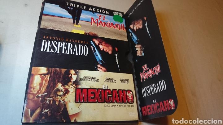 PACK DESPERADO+EL MARIACHI+EL MEXICANO (Cine - Películas - DVD)