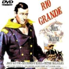 Cine: D6 - CLASICOS DE OESTE. RIO GRANDE. JOHN WAYNE. VICTOR MCLAGLEN. MAUREN O'HARA. WESTERN. DVD.. Lote 128677395