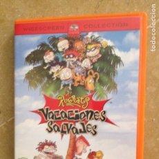 Cine: LOS RUGRATS. VACACIONES SALVAJES (DVD). Lote 213791508