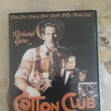 Cine: COTTON CLUB. DVD. Lote 126945844