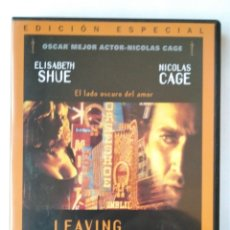 Cine: LEAVING LAS VEGAS - DVD. Lote 127019500