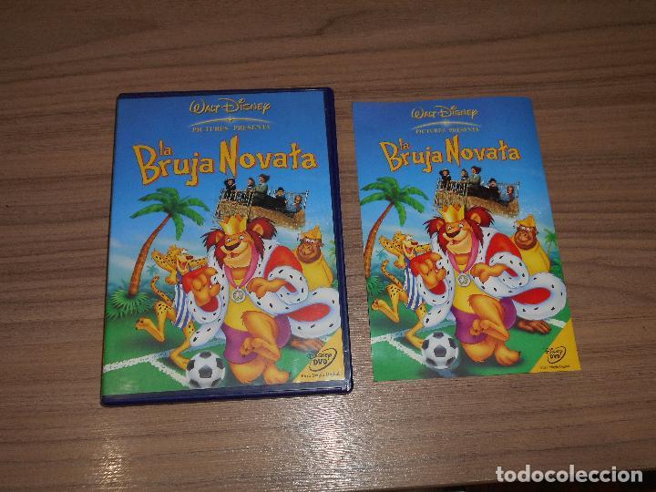 LA BRUJA NOVATA DVD DISNEY COMO NUEVA (Cine - Películas - DVD)
