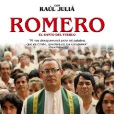 Cine: ROMERO - EL SANTO DEL PUEBLO. Lote 143956980