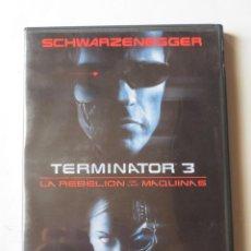 Cine: TERMINATOR 3 LA REBELION DE LAS MAQUINAS (2 DVD). Lote 135010842