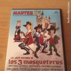 Cine: LA LOCA HISTORIA DE LOS 3 MOSQUETEROS DVD (DESCATALOGADO). Lote 127210695