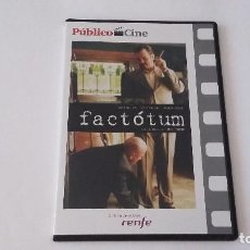 Cine: FACTOTUM - DE BENT HAMER - MATT DILLON - LILI TAYLO - MARISA TOMEI _DVD_AN. Lote 127238811