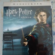 Cine: HARRY POTTER, 4 PELÍCULAS, 8 DVD'S. Lote 127494111