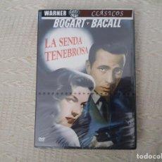 Cine: DVD PRECINTADO LA SENDA TENEBROSA BOGART BACALL CLÁSICO DIFÍCIL . Lote 127548495