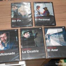 Cine: COLECCION KIESLOWSKI 5 DVD EL AFICIONADO - LA CICATRIZ - SIN FIN - EL AZAR - EL PERSONAL PRECINTADA. Lote 147939094