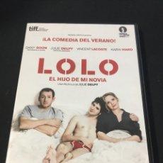 Cine: ( S22 ) LOLO EL HIJO DE MI NOVIA - KARIN VIARD ( DVD SEGUNDA MANO ). Lote 127659571