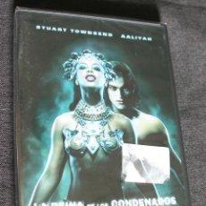 Cine: DVD --- LA REINA DE LOS CONDENADOS --- CON STUART TOWNSEND Y AALIYAH (NUEVO Y PRECINTADO). Lote 127813655