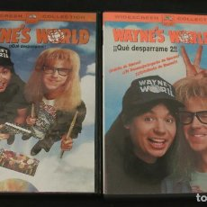 Cinema: DVD --- WAYNE'S WORLD 1 & 2 --- CON MIKE MYERS, DANA CARVEY, AEROSMITH, ALICE COOPER, MEAT LOAF. Lote 127813971