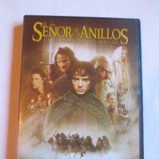 Cine: EL SEÑOR DE LOS ANILLOS LA COMUNIDAD DEL ANILLO (2 DVD). Lote 127835659