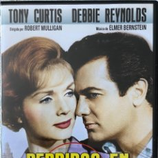 Cine: PERDIDA EN LA GRAN CIUDAD. TONY CURTIS-DEBBUE REYNOLDS- UNA GRAN COMEDIA DWE ROBERT MULLIGAN. Lote 128017871