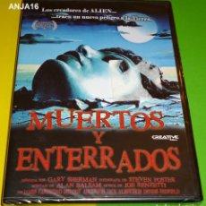 Cine: MUERTOS Y ENTERRADOS / DEAD & BURIED , GARY SHERMAN 1981 -PRECINTADA. Lote 128041739