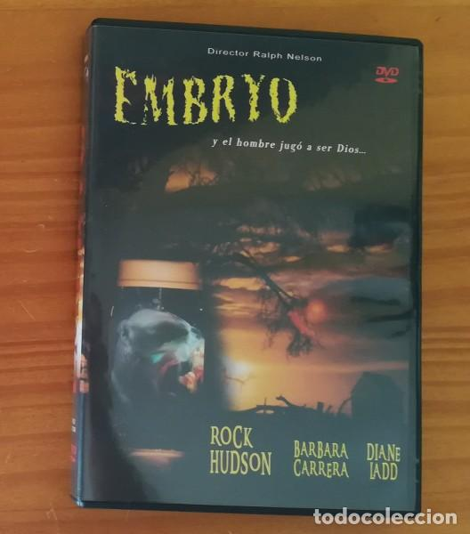 EMBRYO -DVD- RALPH NELSON, ROCK HUDSON, BARBARA CARRERA, DIANE LADD. TERROR (Cine - Películas - DVD)