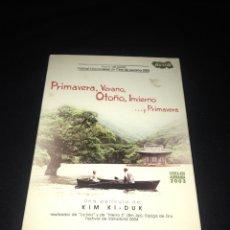 Cine: ( S29 ) PRIMAVERA VERANO OTOÑO INVIERNO Y PRIMAVERA ( DVD SEGUNDA MANO ). Lote 128381652