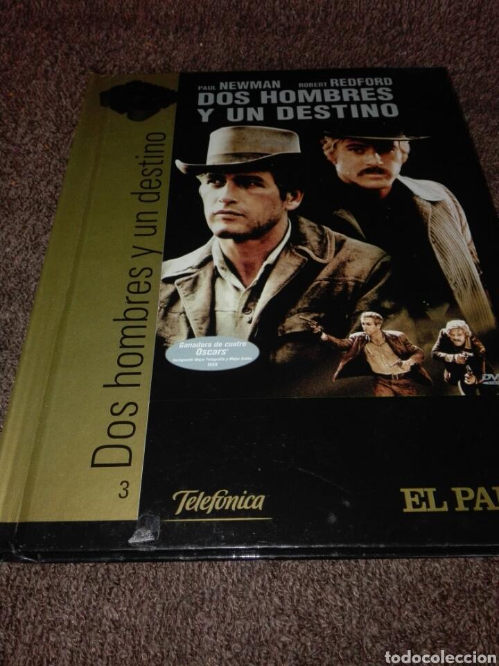 DVD + LIBRO CINE DE ORO EL PAIS DOS HOMBRES Y UN DESTINO (Cine - Películas - DVD)