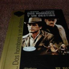 Cine: DVD + LIBRO CINE DE ORO EL PAIS DOS HOMBRES Y UN DESTINO. Lote 128531634
