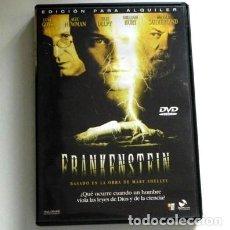 Cine: FRANKENSTEIN DVD PELÍCULA ¿ TERROR ? VIOLA LEYES DE DIOS CIENCIA WILLIAM HURT SUTHERLAND GOSS NEWMAN. Lote 128670767