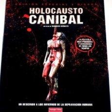 Cine: RUGGERO DEODATO HOLOCAUSTO CANÍBAL DVD GORE 2 DISCOS MANGA FILMS PRECINTADA DESCATALOGADA . Lote 128675991