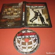 Cine: NIKE BATTLEGROUNDS KING OF THE WORLD - DVD - DIRECTED BY DEREK CIANFRANCE. Lote 128783047