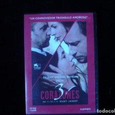 Cine: 3 CORAZONES - DVD COMO NUEVO. Lote 128914143