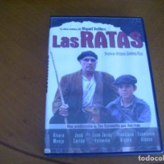 Cine: LAS RATAS ( DVD ) CINE ESPAÑOL. Lote 128927479