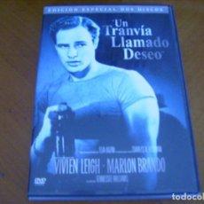 Cine: UN TRANVIA LLAMADO DESEO ( DVD 2 DISCOS ) . Lote 128928103