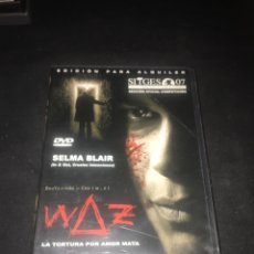 Cine: ( V31 ) WAZ - SELMA BLAIR ( DVD PROCEDENTE VIDEOCLUB ). Lote 129021006