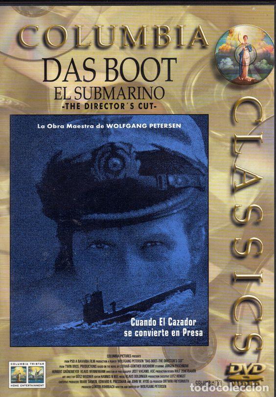DAS BOOT (EL SUBMARINO) DVD (Cine - Películas - DVD)