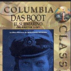 Cine: DAS BOOT (EL SUBMARINO) DVD. Lote 129217951