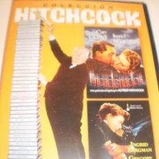 Cine: DVD HITCHCOCK 2 PELIS. ENCADENADOS 101 MINUTOS. RECUERDA 111 MINUTOS. (PRECINTADO). Lote 129268403