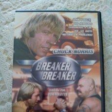 Cine: BREAKER BREAKER. CHUCK NORRIS. DVD. Lote 129302940