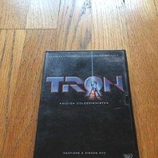 Cine: TRON EDICION COLECCIONISTA 2 DVDS. Lote 129321939