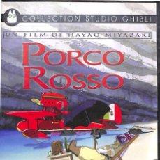 Cine: DVD PORCO ROSSO - HAYAO MIYAZAKI ( EN FRANCÉS Y JAPONÉS). Lote 129558231