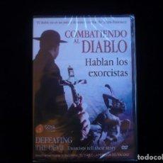 Cinema: COMBATIENDO AL DIABLO HABLAN LOS EXORCISTAS - DVD NUEVO PRECINTADO. Lote 140855578