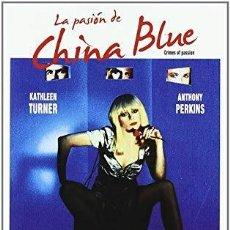 Cine: NUEVA / LA PASIÓN CHINA BLUE – KEN RUSSELL, KATHLEE TURNER, ANTHONY PERKINS . Lote 129710983