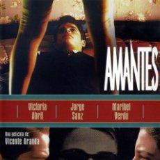 Cine: AMANTES – VICENTE ARANDA, VICTORIA ABRIL, JORGE SANZ, MARIBEL VERDÚ. Lote 129713359