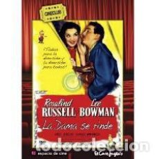 Cine: LA DAMA NO SE RINDE (SHE WOULDN'T SAY YES) (1945). Lote 129978395