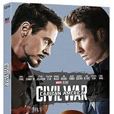 Cine: CAPITÁN AMÉRICA: CIVIL WAR - EDICIÓN COLECCIONISTA [DVD]. Lote 129978707
