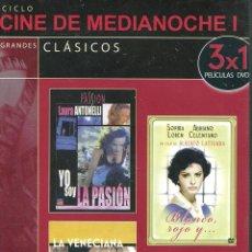 Cine: YO SOY LA PASIÓN / BLANCO ROJO Y... / LA VENECIANA. Lote 129979475