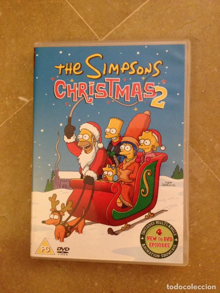 The Simpsons Christmas Dvd.The Simpsons Christmas 2 Dvd English