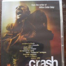 Cine: CRASH (PAUL HAGGIS) MATT DILLON. SANDRA BULLOCK. DON CHEADLE. EN INGLÉS. Lote 130024270