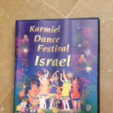 Cine: KARMIEL DANCE FESTIVAL ISRAEL (DVD) ISRAEL FOLK DANCE. Lote 130046531