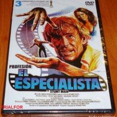 Cine: PROFESION EL ESPECIALISTA / THE STUNT MAN - PRECINTADA. Lote 130120903